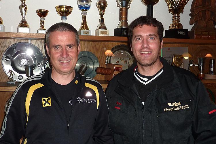 Wolfgang Tiefenbrunner und Rene Engensteiner