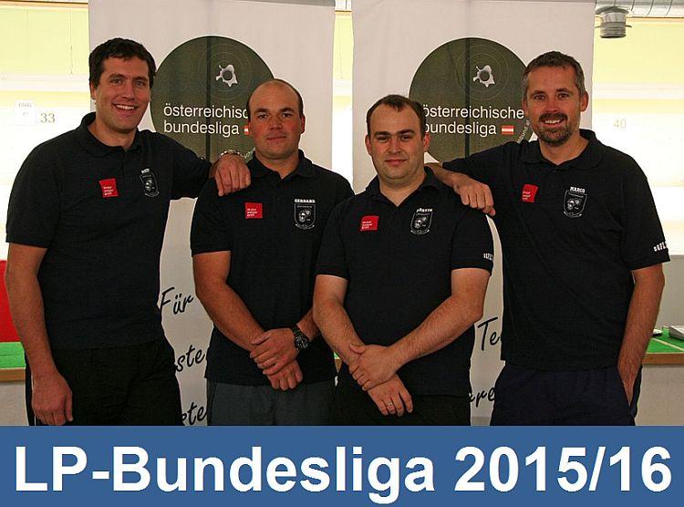Die Fließer LP-Bundesligamannschaft
