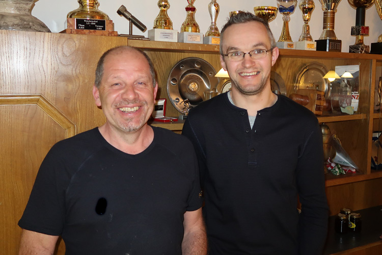 Thomas Kropf und Christian Krabacher