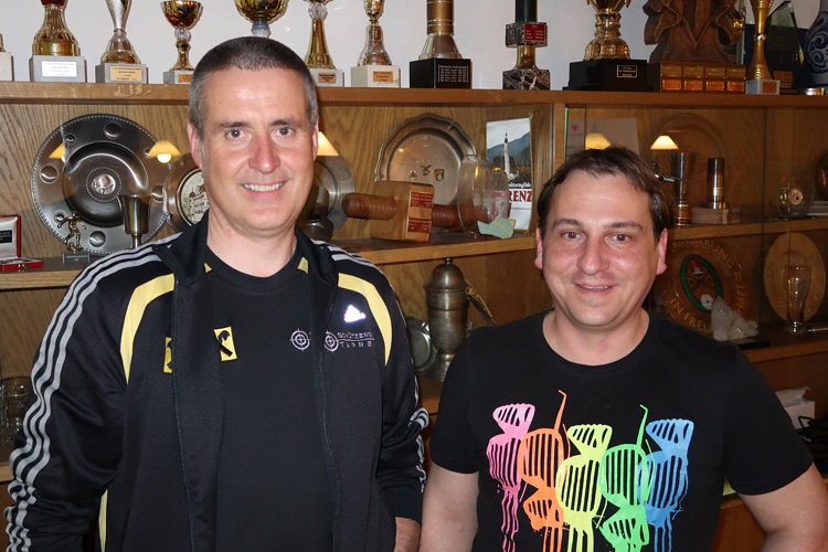 Wolfgang Tiefenbrunner und Edwin Köll