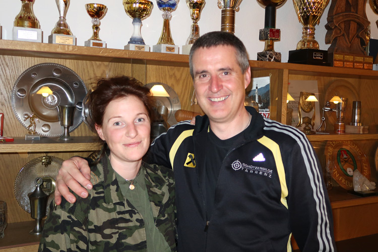Sandra Berghammer und Wolfgang Tiefenbrunner